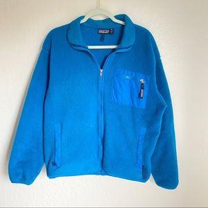 Patagonia Blue Retro X Fleece Jacket Size 14